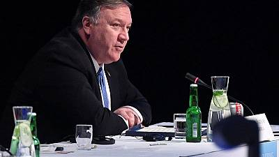 U.S. Secretary of State Pompeo's visit to London is going ahead, embassy says