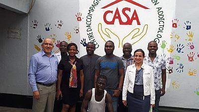 Visite de Stéphanie Seydoux en Côte d'Ivoire