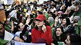 Manifestation d'étudiants algériens contre le régime le 7 mai 2019 à Alger