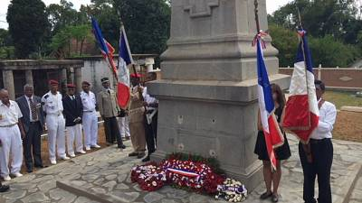 Cérémonie commémorative du 8 mai 1945 à Moramanga