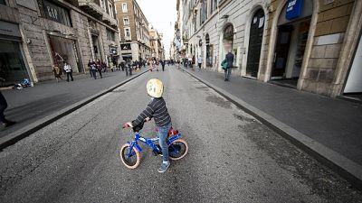 Giro: tornano le pedalate di BiciScuola