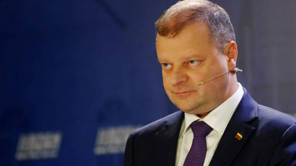 Lithuania PM says he would quit if unsuccessful in presidential vote