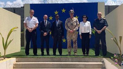 EU NAVFOR Somalia, Operation Atalanta in the European Union Open Day in Mogadishu