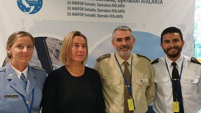 EU NAVFOR Somalia, Operation Atalanta in the European Union Open Day in Brussels