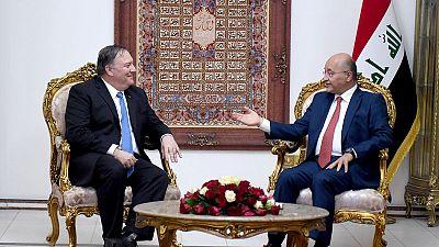 Pompeo briefs Iraqi leaders on U.S. security concerns over Iran