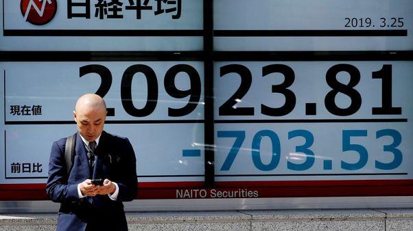 المؤشر نيكي يفتح على هبوط بنسبة 1.35% في طوكيو