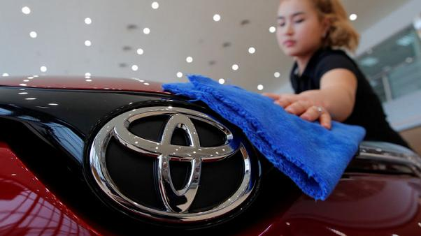 Toyota sees smaller-than-expected profit rise in 2019/2020