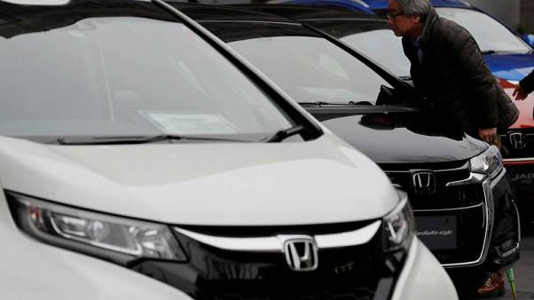 Honda forecasts 6 percent rise in annual profit on Europe factory revamp