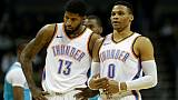 NBA: Russell Westbrook et Paul George, d'Oklahoma City, opérés