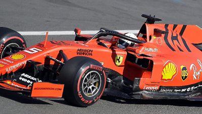F1: test Barcellona con 4 piloti Ferrari