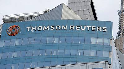 Thomson Reuters reports higher first-quarter sales