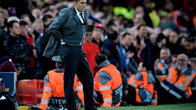 Barca: Valverde discusso dopo Liverpool