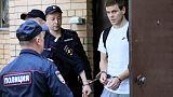 Two Russian soccer internationals sentenced to jail for assault