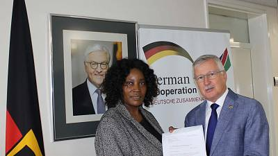 Chief Curator for National Museum of Namibia Invited to Germany on a Cultural Heritage Preservation Information Visit