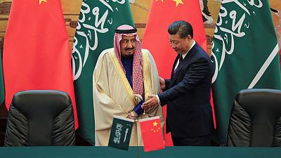 China's Xi speaks to Saudi king amid Iran tensions