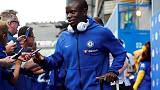 Chelsea's Kante out of Europa League semi against Frankfurt