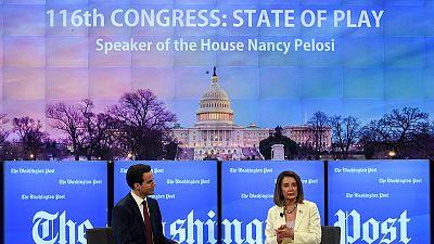 U.S. House Speaker Pelosi: Trump making impeachment case by ignoring subpoenas