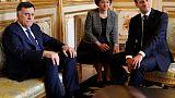 """Libye: Macron réaffirme son """"soutien"""" à Sarraj et appelle à un cessez-le-feu sans conditions (Elysée)"""