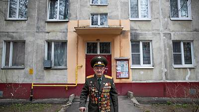 Russian WW2 veteran, 100, calls for peace on Victory Day