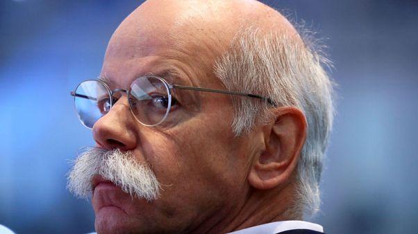 Daimler CEO says successor will have tough job
