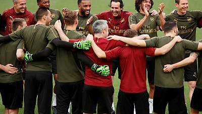 Arsenal's Emery values winning a trophy above Champions League return