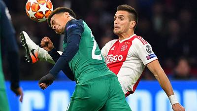 Tottenham beat Ajax to set up Champions League final with Liverpool