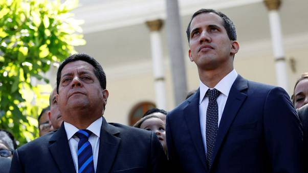 Deputy of Venezuela's Guaido arrested and dragged away by tow truck