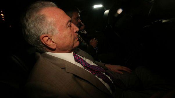 Brazilian court orders former President Temer to be jailed again