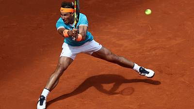 Nadal makes strong start in Madrid as Ferrer bows out