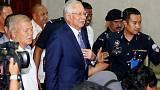 Malaysia seeks forfeiture of assets seized from ex-PM Najib