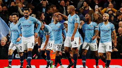 Manchester City on brink of title as epic race reaches climax
