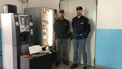 'Fazio' arresta ladro di merendine