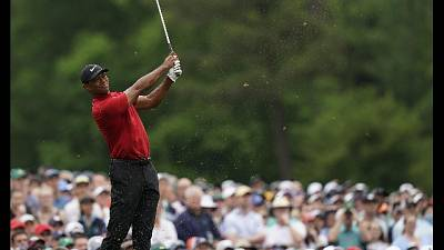 Golf, PGA Championship, Woods a Bethpage