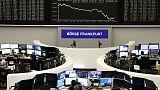 أسهم أوروبا تتراجع متأثرة بتوترات التجارة