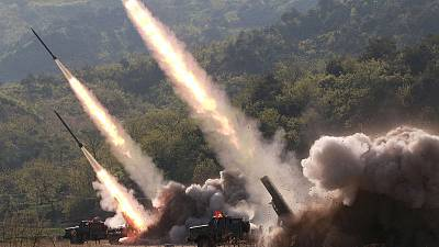 North Korea launches more missiles; U.S. announces ship seizure in mounting tensions