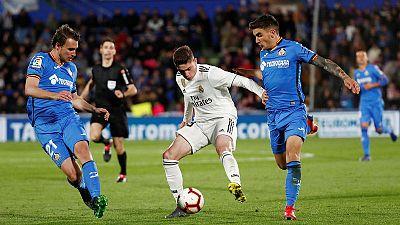 Smarting Barcelona host Champions League chasing Getafe