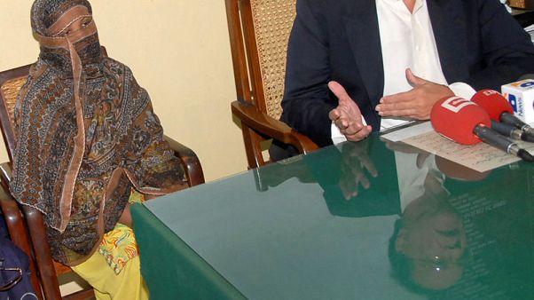 Pakistan confirms death row Christian woman has left country