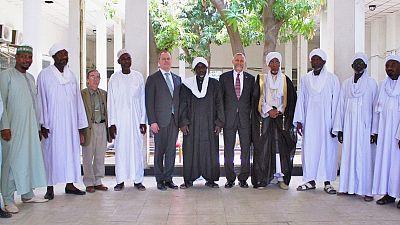 Le Chargé d'Affaires effectue une visite au Conseil Supérieur des Affaires Islamiques à l'occasion du Ramadan