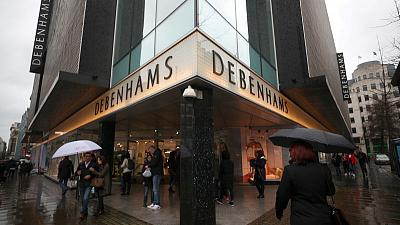 Debenhams' creditors approve UK retailer's restructuring