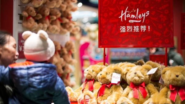 India's Reliance Industries buys global toy retailer Hamleys