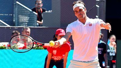 Tennis:Madrid, Federer e Djokovic ai 4/i