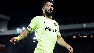 Barca forward Suarez to undergo knee surgery