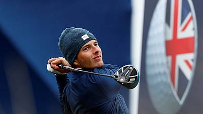 Jordan takes British Masters lead with course record 63
