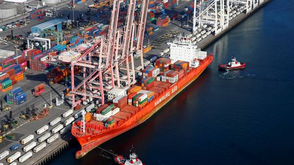 U.S. goods trade deficit with China tumbles to five-year low