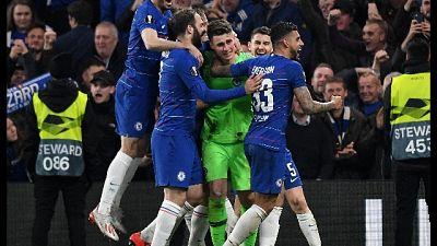 Europa League: Chelsea in finale