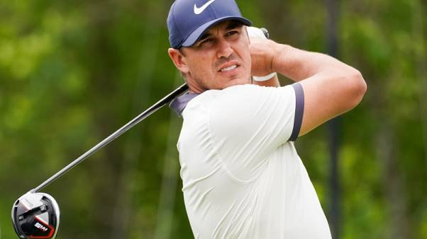 Golf - Koepka in the hunt at Byron Nelson ahead of PGA Championship defence