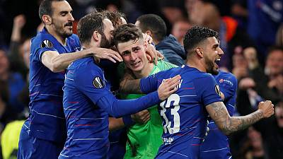 Chelsea, Arsenal seal pair of all-English finals in Europe
