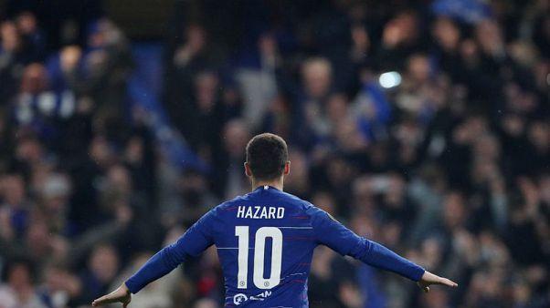 هازارد يسجل ركلة الترجيح الأخيرة ويقود تشيلسي لنهائي الدوري الأوروبي