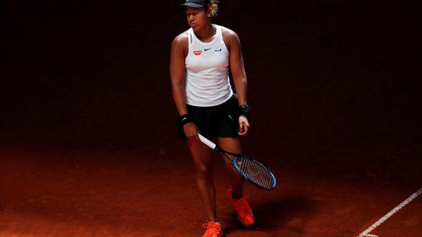أوساكا المصنفة الأولى عالميا تودع بطولة مدريد المفتوحة