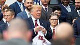 Baseball: les Red Sox invités à la Maison Blanche, plusieurs joueurs boycottent